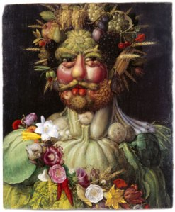 No, this isn't really Ambrose Westrop--there's no picture of him available. I've always just really liked this painting. This is Emperor Rudolf II as Vertumnus by Giuseppe Arcimboldo, c.1590